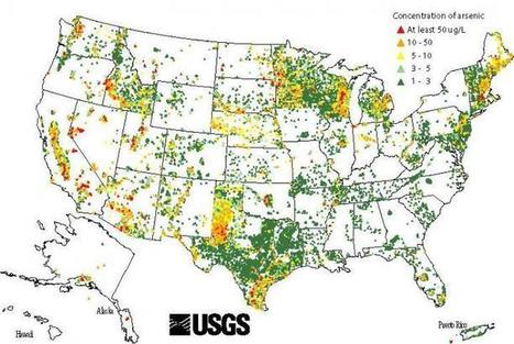 Hot spots mapped: Arsenic taints many US wells | Geology | Scoop.it