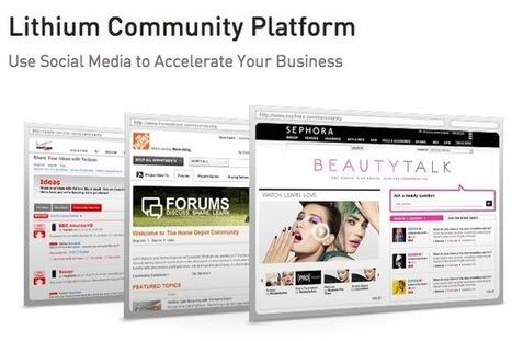 Lithium : des communautés à la sauce 2.0 pour les marques... | Gestion de contenus, GED, workflows, ECM | Scoop.it