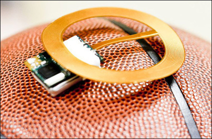 Smart Basketball Helps Athletes Sharpen Their Skills - RFID Journal | NFC News and Trends | Scoop.it