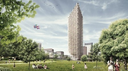 Research suggests a wooden future for skyscrapers   GizMag.com   Urban Area and Density   Scoop.it