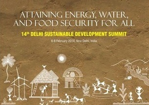 Delhi Sustainable Development Summit 2014 | Energy, water and food security | Scoop.it