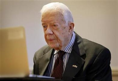 """Jimmy Carter: World at """"turning point,"""" must commit to peace 