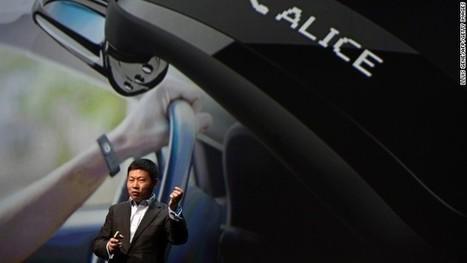 Huawei enters wearables game with TalkBand hybrid smartwatch - CNN | smartwatch | Scoop.it