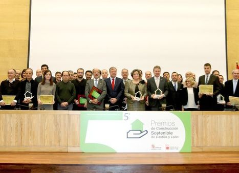 Acto de entrega de los Premios de Construcción Sostenible de Castilla y León | Ordenación del Territorio | Scoop.it