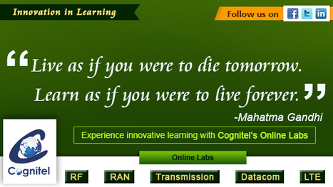 Experience innovative learning with Cognitel | Cognitel Training Courses | Scoop.it