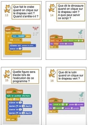 Initiation à Scratch, des missions et des cartes - L'Atelier Canopé 78   Vie numérique  à l'école - Académie Orléans-Tours   Scoop.it