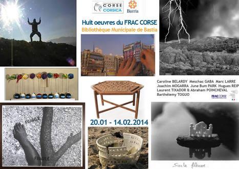 Le FRAC Corse présente 8 œuvres de sa collection à la bibliothèque de Bastia du 20 janvier au 14 février 2014 | Pour Bastia Par Passion | Scoop.it