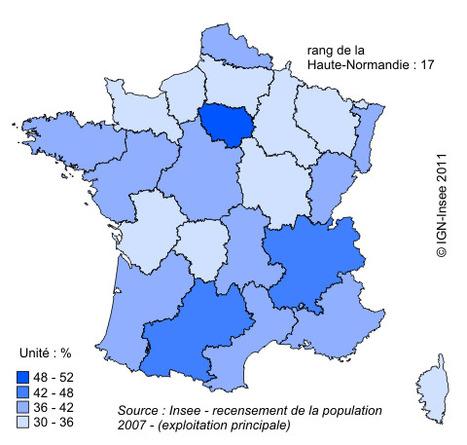 Insee - Territoire - Les indicateurs du développement durable en Haute-Normandie : les structures économiques sont prépondérantes | Da Rouen et zalentours | Scoop.it