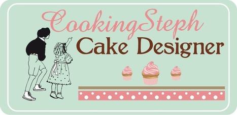 Cake Designer CookingSteph | Mini-sites faire-part | Scoop.it
