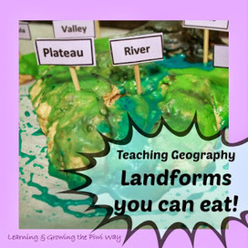 Learning and Growing the Piwi way: Kitchen Geography: Teaching landforms the fun way! | geography | Scoop.it