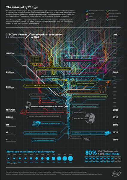 #infography #dataviz #IoT The Internet of the... | net-bubble | Internet of Things rkj | Scoop.it