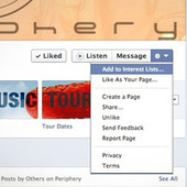 """Add Pages to Your Facebook """"Interest Lists"""" Instead of Liking Them 