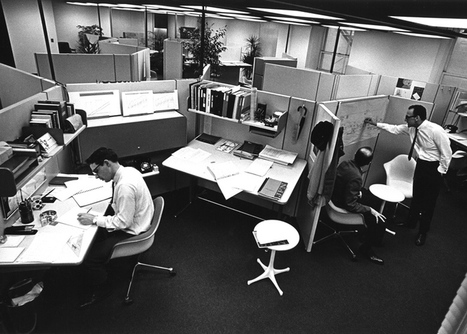 The office cubicle: from commercial flop to design classic | workplace creativity: innovation et travail | Scoop.it