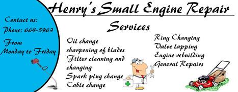 Henry's Small Engine Repair | Automotive Skills Of Mr Martin | Scoop.it