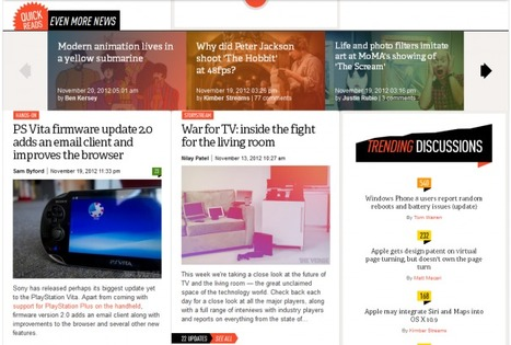 All these horizontal, design-y layouts | marketingonline | Scoop.it