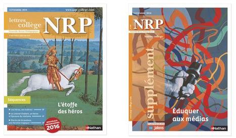 NRP n°650 (novembre 2016) | Veille pédagogique et disciplinaire | Scoop.it
