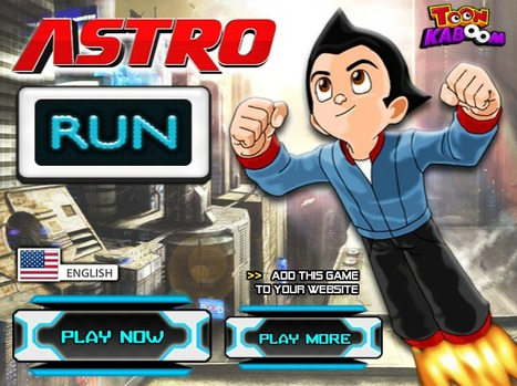 Astro Run - Play Your Best Other Cartoon Games On toonkaboom.com | Best Cartoon Games | Scoop.it