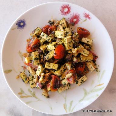 Pesto Tofu | Vegetarianism | Scoop.it
