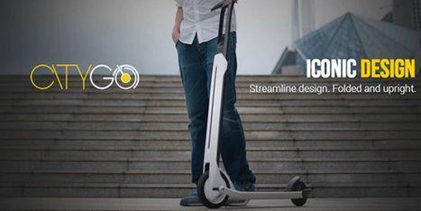 Citygo Urban, la trottinette connectée pour se déplacer en ville - Web des Objets | Gadgets Connectés | Scoop.it