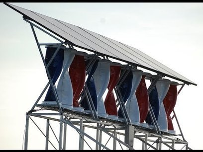 Beautiful and Functional: Solar + Wind Installation | Sustain Our Earth | Scoop.it