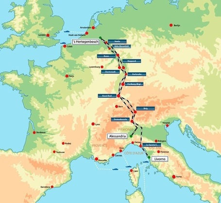 Travel North To South Europe On The Train With Your Motorcycle |  Bikes in the Fast Lane | Ductalk | Scoop.it