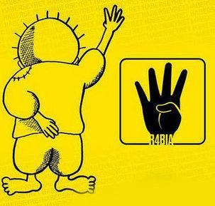 Palestinian boy Handala makes Rabia sign | Islam | World Bulletin | #R4BIA | Scoop.it