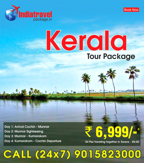 Kerala tour package from noida | travel agent | Scoop.it