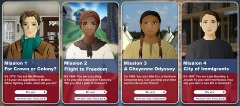 New Mission US game released! | K-12 Web Resources - History & Social Studies | Scoop.it