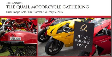 Ducati.net | The Quail Motorcycle Gathering | Ducati Superbikes in the Spotlight | Ductalk | Scoop.it