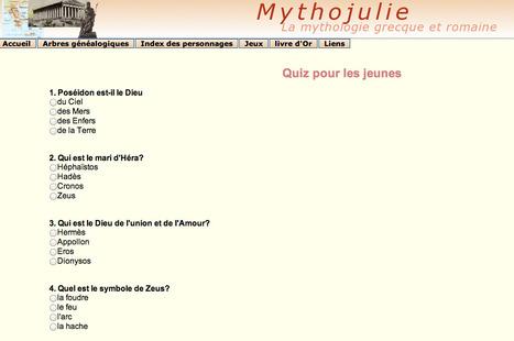 Mythojulie : Arbres généalogiques de la mythologie grecque et romaine   Salvete discipuli   Scoop.it
