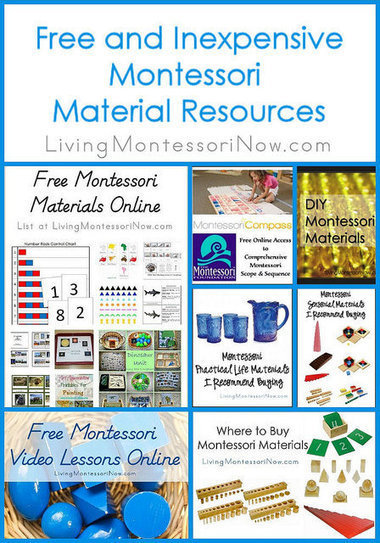 Montessori Monday – Free and Inexpensive Montessori Material Resources | Montessori Inspired | Scoop.it