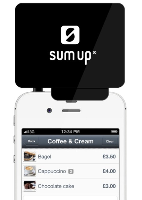 Mobile chip card reader: SumUp Expands To 3 More Markets including France | WEBOLUTION! | Scoop.it