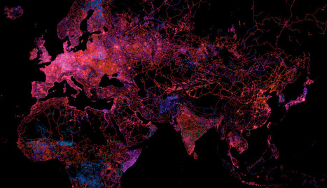De quel espace l'internet est-il la carte ? | Mutations numériques | Scoop.it