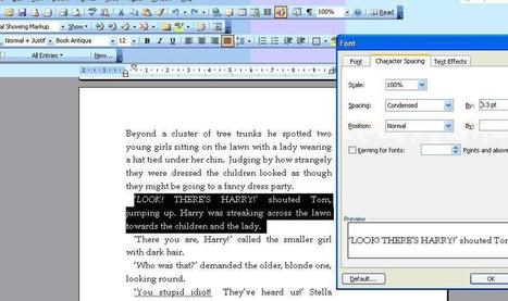Word formatting tips   Writing   Scoop.it