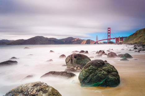 Golden Gate Bridge from Marshall Beach, San Francisco by Anakin Yang | My Photo | Scoop.it
