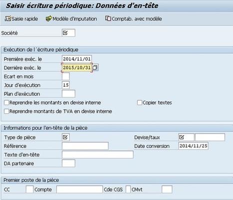 Capsule SAP #2 : Autres types d'écritures de journal | Outils de travail | Scoop.it
