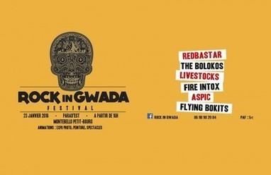Guadeloupe : L'événement Rock in Gwada Festival   Les infos de SXMINFO.FR   Scoop.it