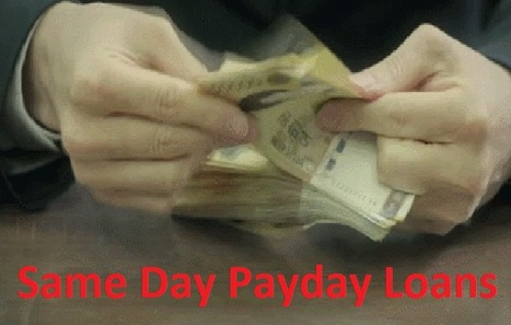 Same Day Payday Loan- Get Relief From Fiscal Burdens  | Installment Loans No Credit Check | Scoop.it