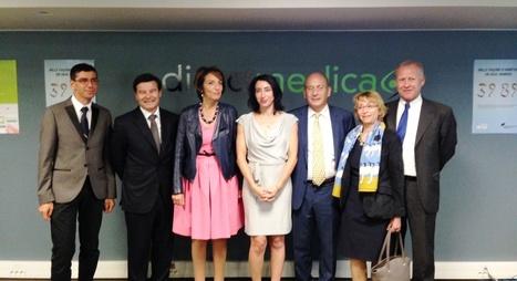 Direct Medica a reçu Marisol Touraine avec l'Inpes - News et événements - DirectMedica | DM News | Scoop.it