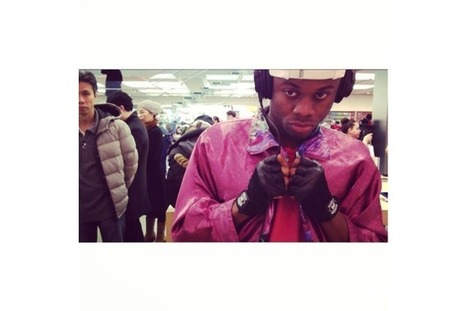 Rapper Prince Harvey Records Entire Album in an Apple Store | GetAtMe | Scoop.it