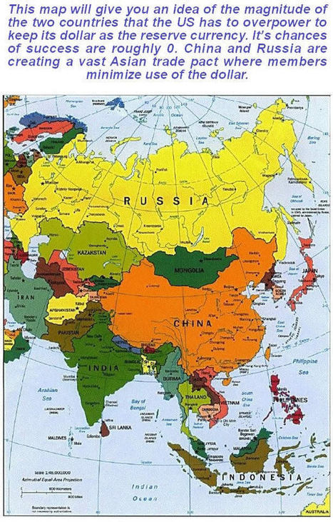 Will The US Succeed in Breaking Russia to Maintain Dollar Hegemony?... | Clive Maund | Safehaven.com | Gold and What Moves it. | Scoop.it