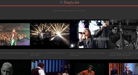 Disfruta de conciertos de música completos gratis a través de tu navegador - Geek's Room   INTERNET Y NUEVAS TECNOLOGÍAS   Scoop.it