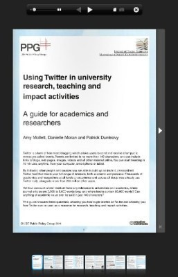 Guide to using Twitter in university research, teaching, and impact activities #OER | Social Media, Teaching, and Learning | Scoop.it