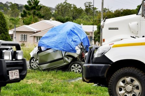 Woman killed as car is crushed between truck and tanker   Accidents and Occupational Health & Safety   Scoop.it