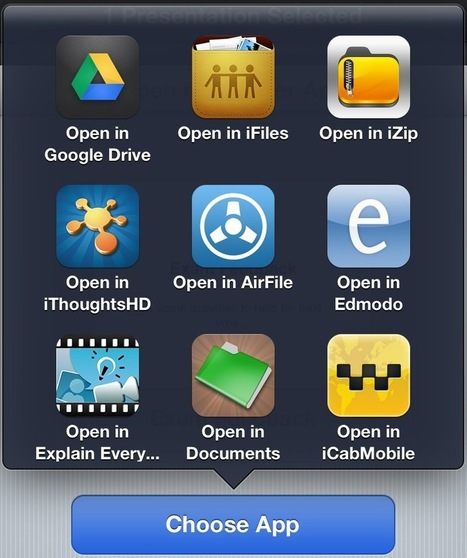 Mark Anderson's Blog » iPad 105 – Workflow | How to save, work with multiple apps and share | mrpbps iDevices | Scoop.it