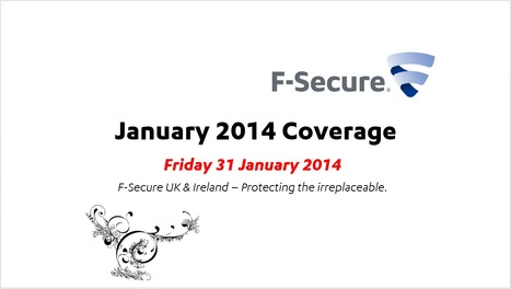 January Coverage (31st) | F-Secure Coverage (UK) | Scoop.it