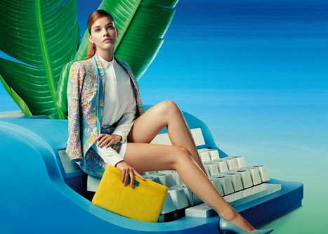 BARBARA PALVIN FOR LILY CHINA SPRING 2014 | FASHION LILY SS14 - BARBARA PALVIN CAMPAIGN BY FRED & FARID SHANGHAI | Scoop.it