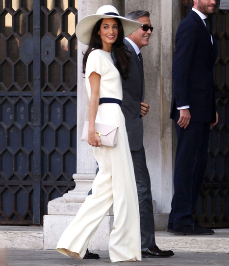 A Fashion Icon Is Born - Amal Clooney   the fashion clothes shoes dress bags   Scoop.it
