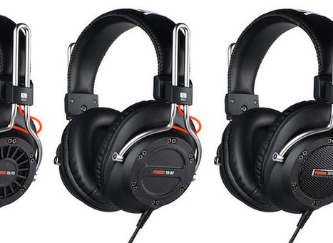 Fostex série TR : des casques audio pros, mais aussi très versatiles | Fostex | Scoop.it