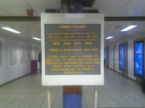 London Midland public transport ascii art. Photo by Frankie... | ASCII Art | Scoop.it
